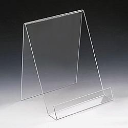 Acrylic Single Book Display Stands