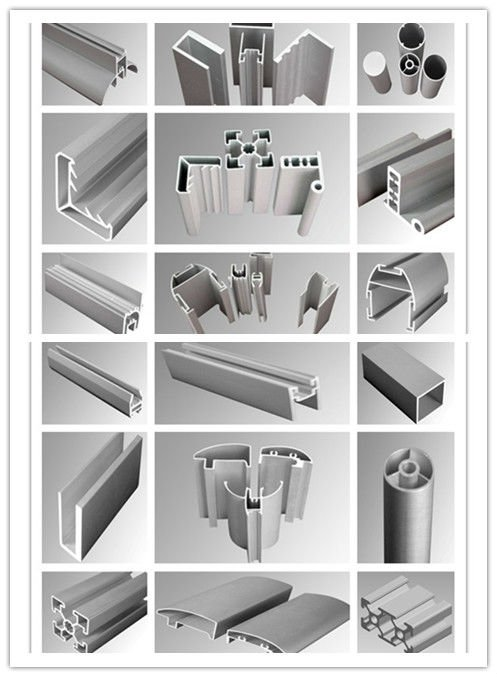 Aluminum Extrusion Profiles Extruded Aluminum Shapes Stock