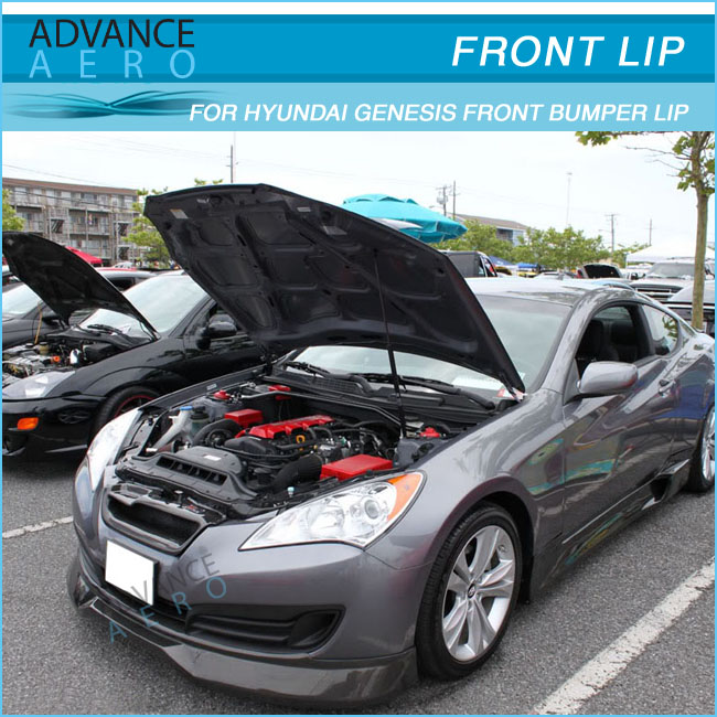 For 10 11 12 Hyundai Genesis Coupe 2dr Ak Cfx Style Pu Front ...