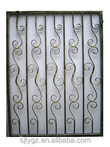 The Simple&new Designs Modern Iron Window Grill Design