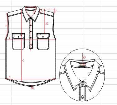 abf0899e4c46d3 Men s Half Button Sleeveless 100s Cotton Work Shirt - Buy Men s ...