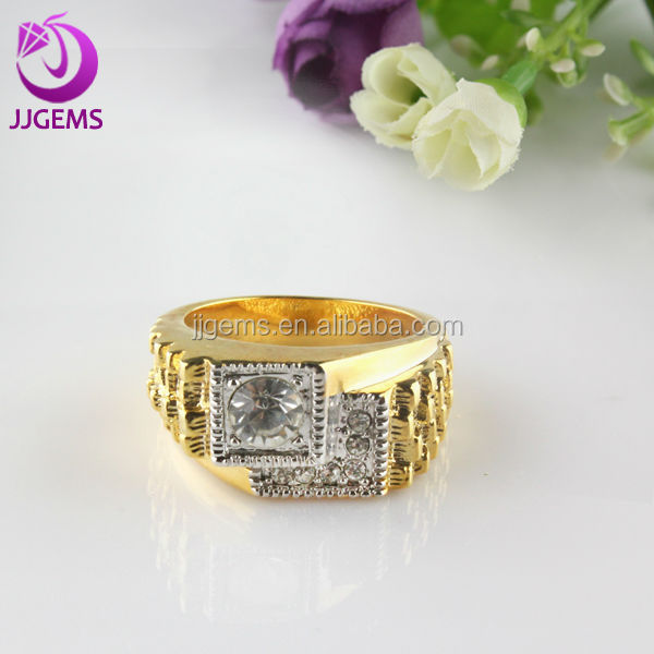 China Suppliers Wholesale Latest Simple Gold Ring Designs For Boys ...