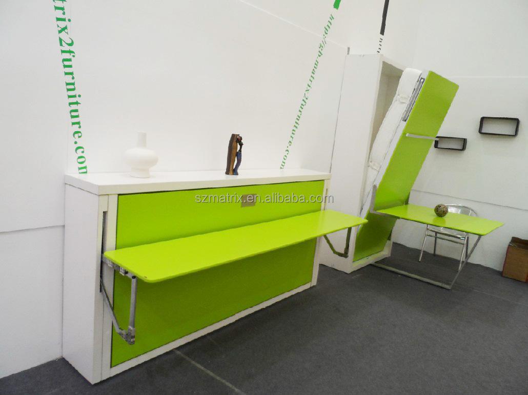 klappbett mit schreibtisch dekoration bild idee. Black Bedroom Furniture Sets. Home Design Ideas