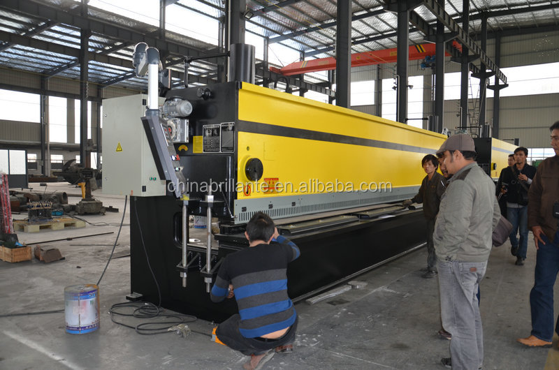NANTONG: W12 4 roll plate bending machine, hydraulic plate rolling machine