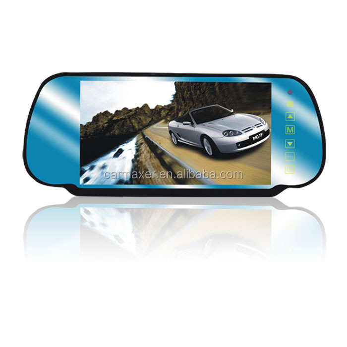 hot selling 7inch car camera car rear view mirror convex