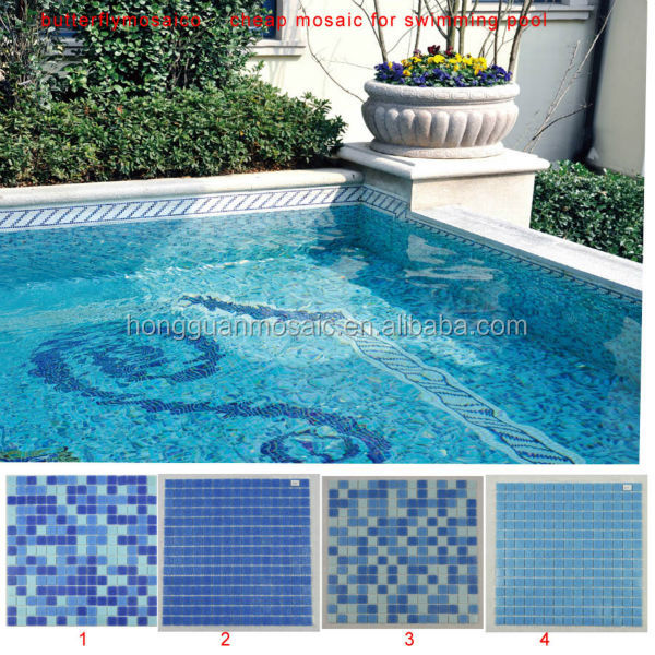 China Cheap Glass Mosaic Tiles Designs For Swimming Pool Tile - Buy Cheap  Mosaic Tiles,Mosaic Designs,Glass Mosaic For Swimming Pool Tile Product on