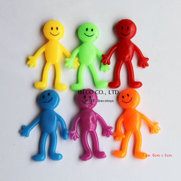 Sticky Amp Stretchy Toys : Sticky stretchy smiley man toys buy