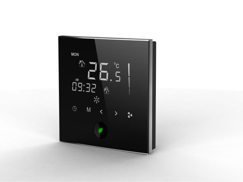 breath series fan coil room thermostat touch screen room thermostat buy thermostats room. Black Bedroom Furniture Sets. Home Design Ideas