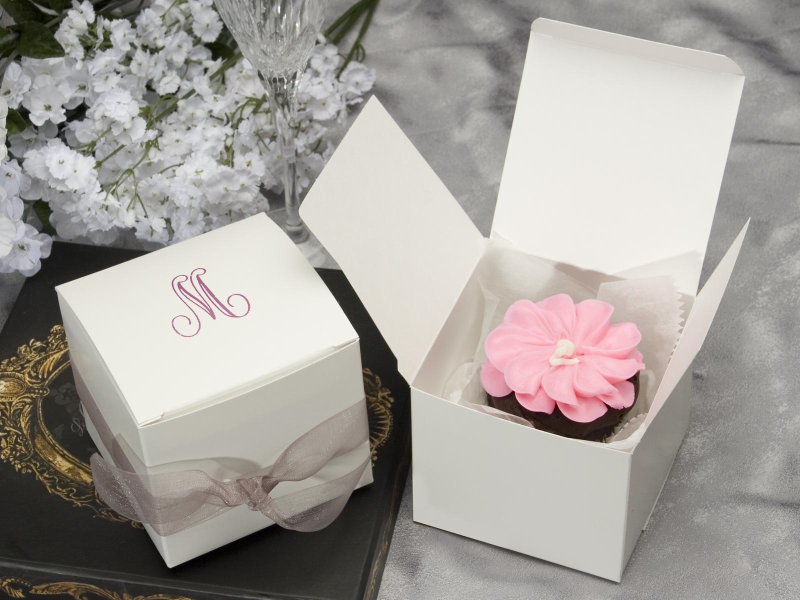 2015 New Design Square Simple Cake Box With Handle Buy