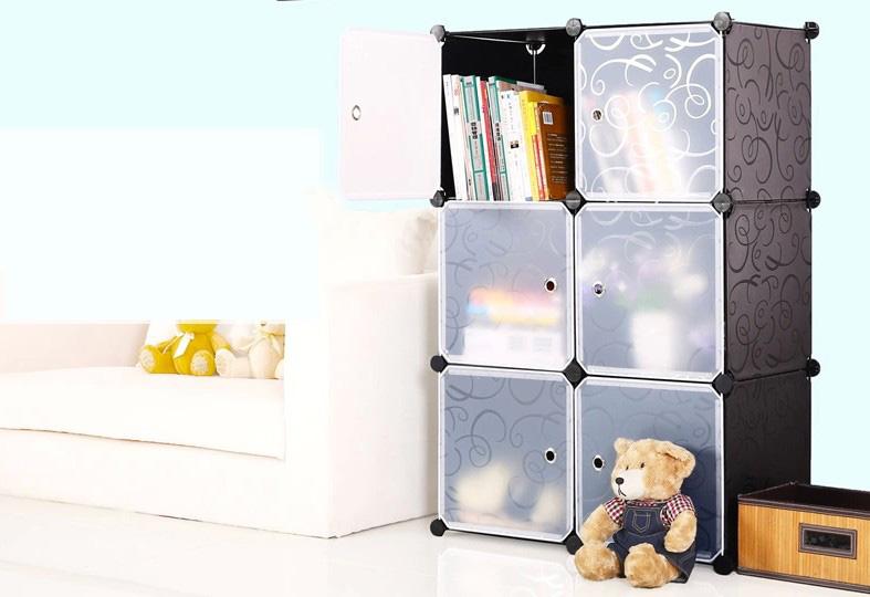 Armadio Per Bambini Fai Da Te : Cubi di plastica fai da te giocattoli per bambini di stoccaggio