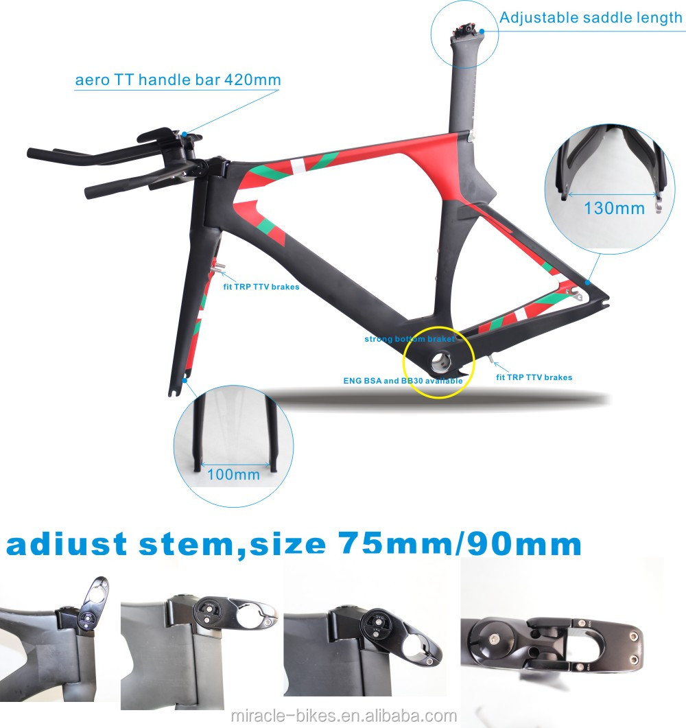 China Carbon Bike Frame Carbon Time Trial Bike Frame China
