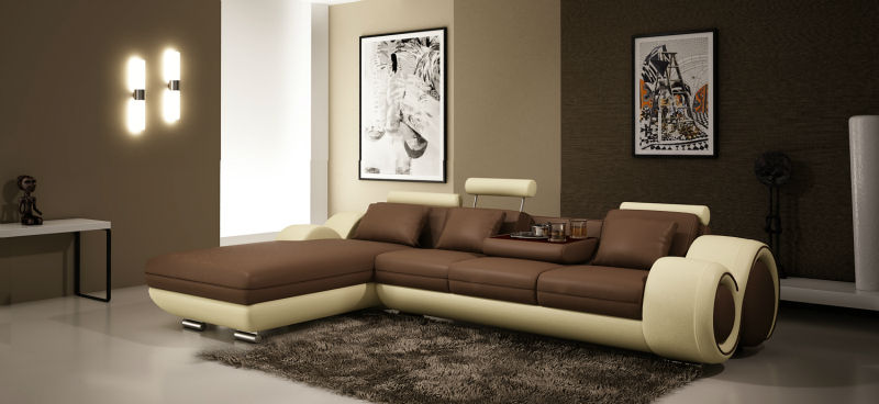 Top Selling Modern Corner Sofa Corner Living Room Sofa