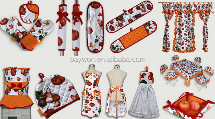 Cheap Kitchen Aprons Set Kitchen Textile Products