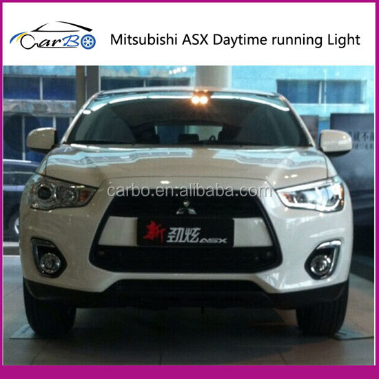 car tuning lamp for mitsubishi asx led daytime running light for
