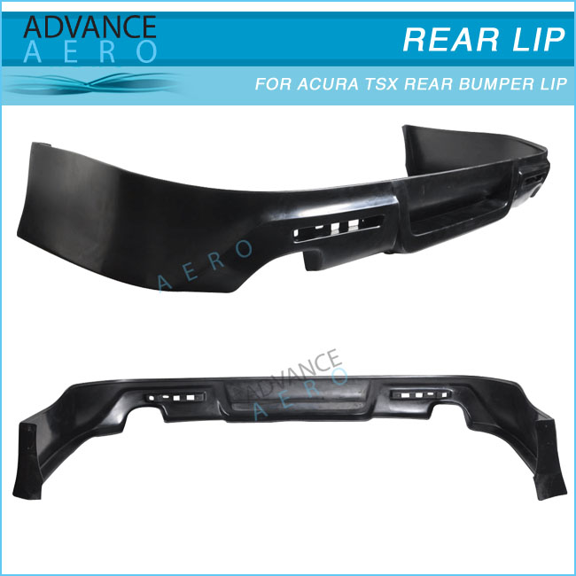 Hot Sale Body Kit For 09 10 11 Acura Tsx Poly Urethane Black Rear ...