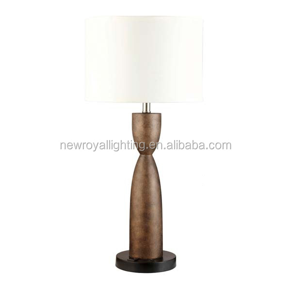 Modern Polished Chrome Table Lamp,Fabric Shade Table Lamp,Usa ...