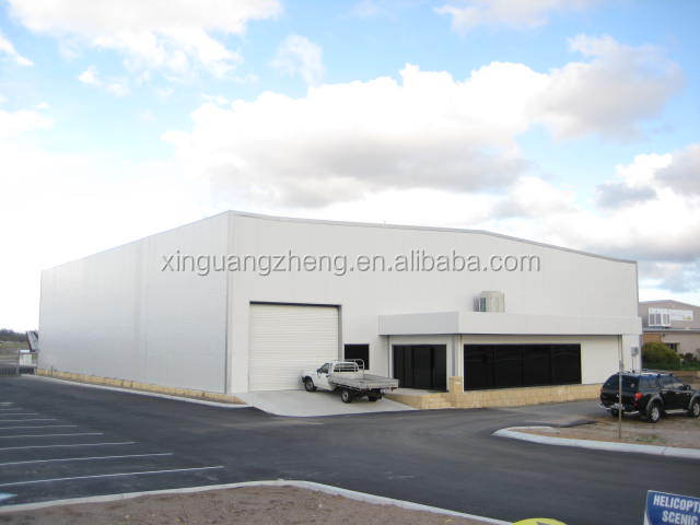 prefab structural hangar steel buildings