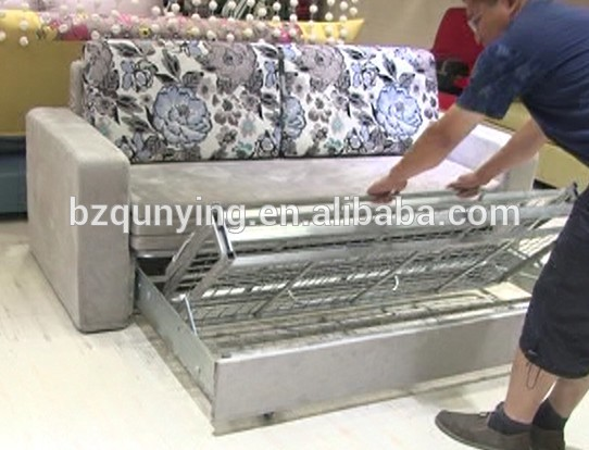 Enlarged Folding Futon Bed Frame With Removable Cover Buy Folding