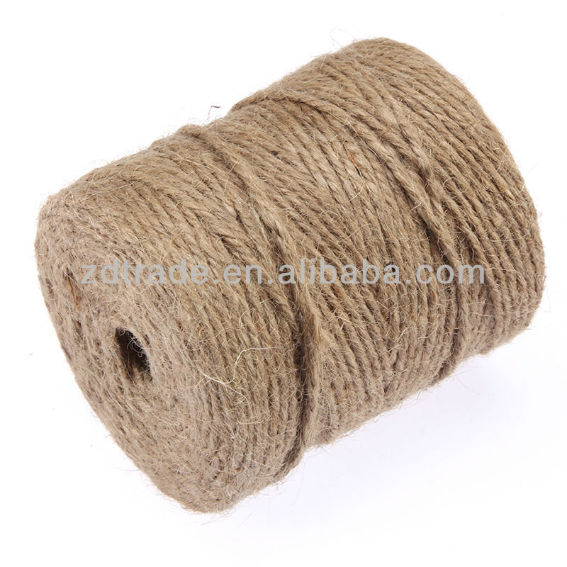 Black/Natural/off-white Strong Garden String Multi-Use Jute Twine Craft Rope Roll