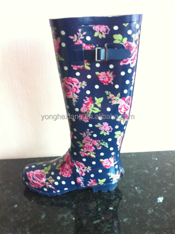 Ladies Fashion Gumboots - Buy Gumboots,Rubber Shower Shoes ...