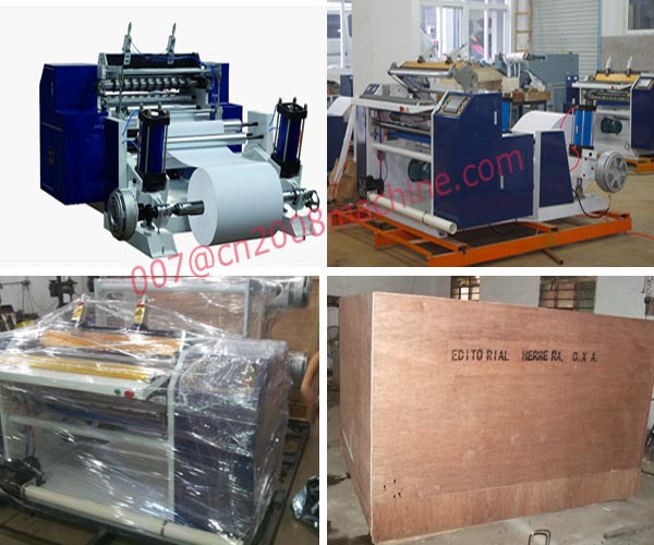 HAS VIDEO Full Automatic Thermal Paper Slitting Machine (Thermal Paper Slitting Rewinder)