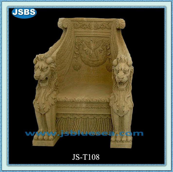 Uniek design gele leeuw gesneden marmeren stoel buy product on - Stoel aangewezen ...
