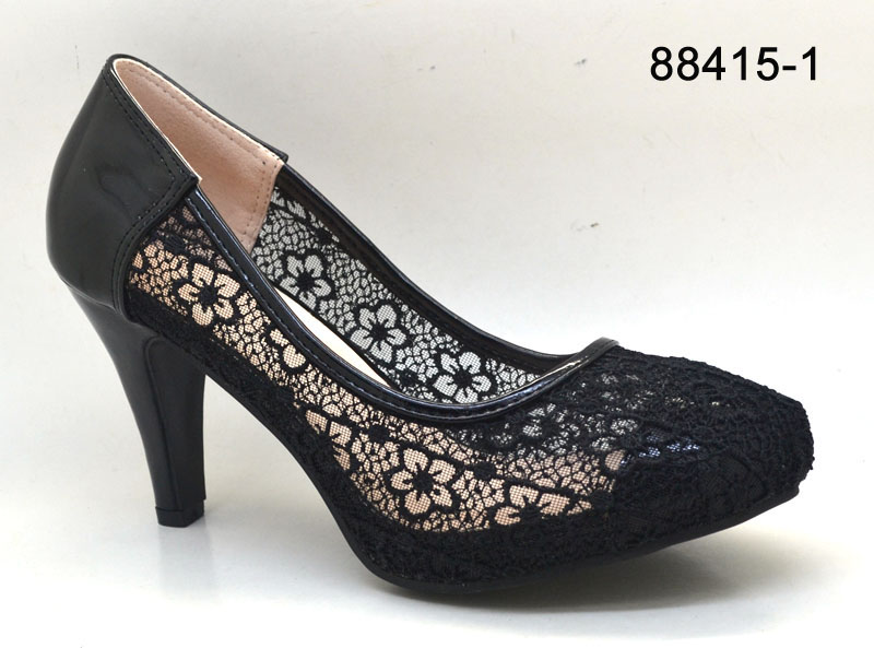 Low Heel Dress Shoe Women Low Heel Sexy Shoes Lace Sexy Dress ...