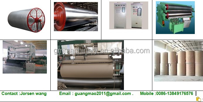 3200mm Hot Sale Craft Paper Making Machinery,Waste Paper Recycling ...