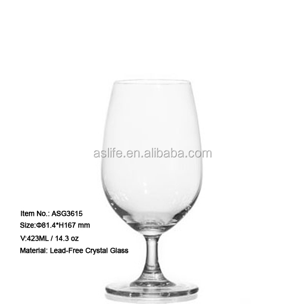 3613907ccab Wholesale party glass glasses juice cup 421ml 14.2oz lead free crystal  glass flute fruit