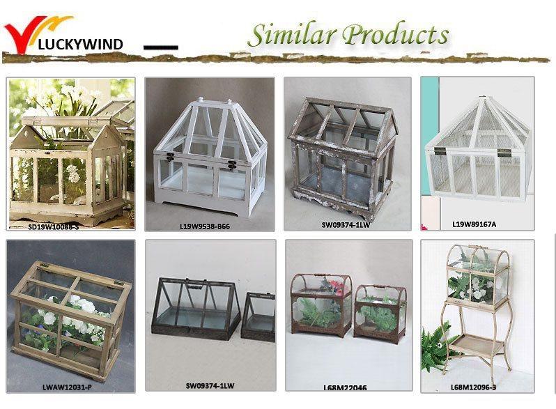 Luckywind Franzosisch Land Garten Holz Gewachshaus Buy Glas