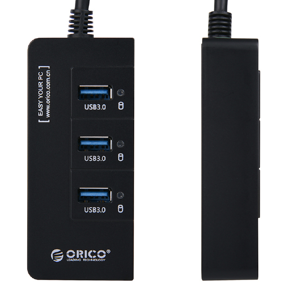 ORICO HR01-U3 3-port USB 3.0 USB 3.0 to RJ45 10 / 100 / 1000Mbps Ethernet Adapter