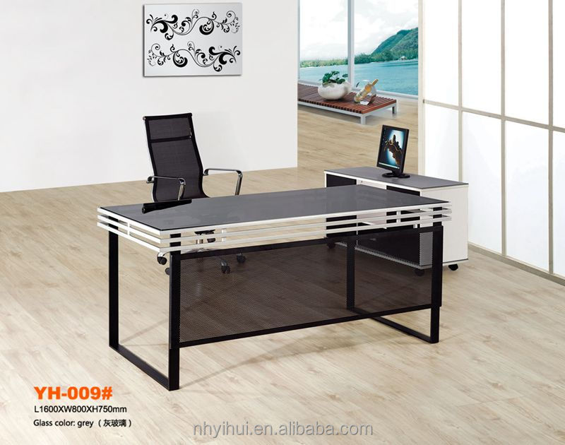 steel office desk/office manager table/office furniture made in
