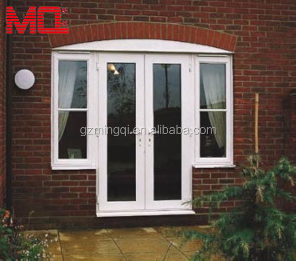 Double glazing pvc french door price windows and doors for French door manufacturers