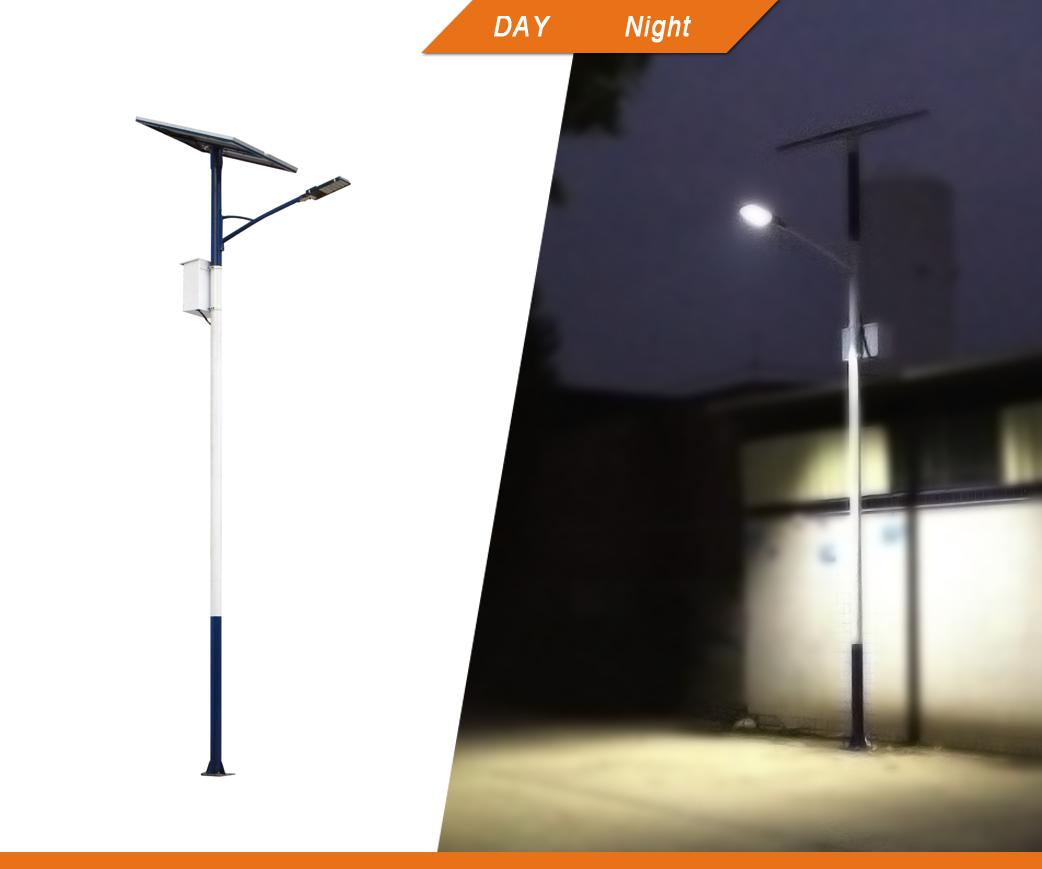 Guangzhou Felicity Pv Led Street Light With 6 10m Pole Led