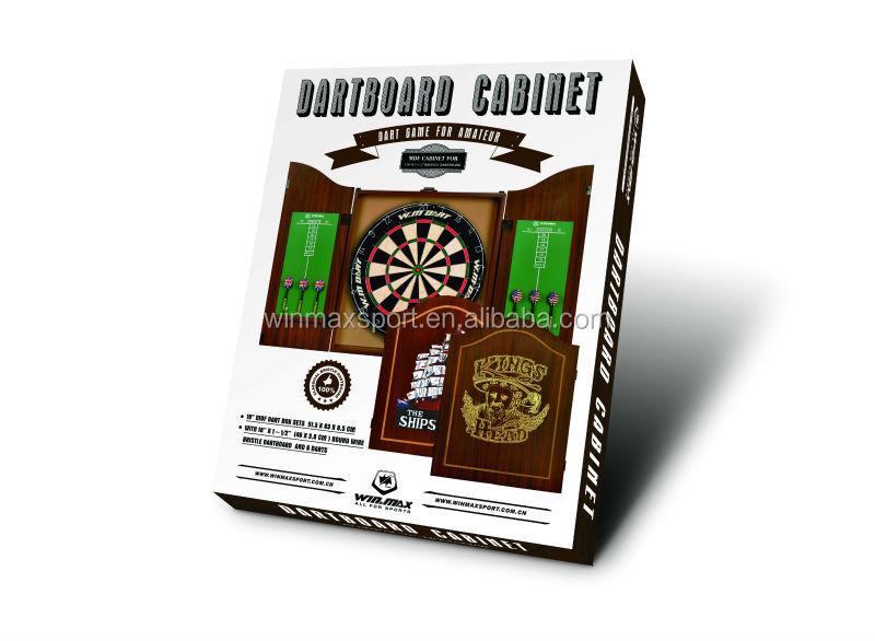 Dartbord In Kast : Dartbord in kast winmau kabinet man cave line dartshop
