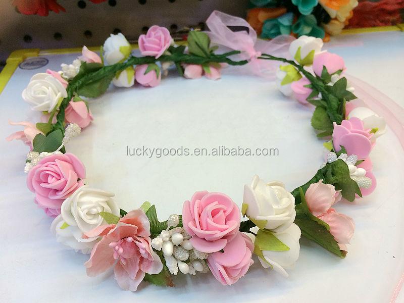 Lujoso Como Hacer Coronas De Flores Embellecimiento Ideas de