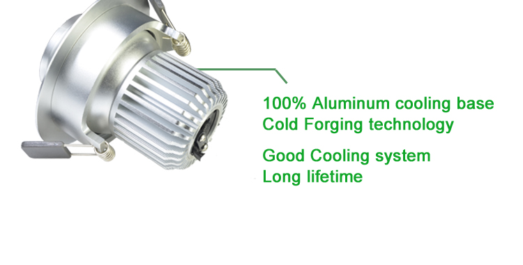 New Construction 9w Cob Eyeball Adjustable Led Recessed Can Light ...