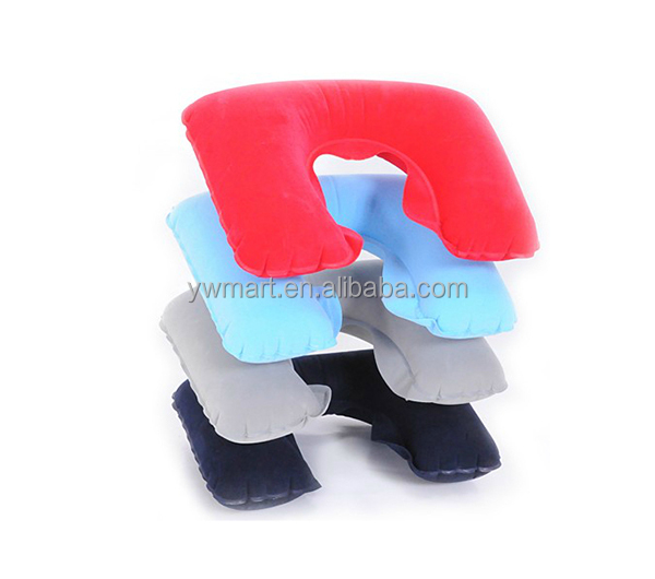 Promotional Inflatable Neck Pillow Inflatable Travel Body