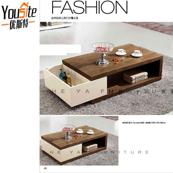 Cream color high glossy turkish furniture coffee table for Cream glass coffee table