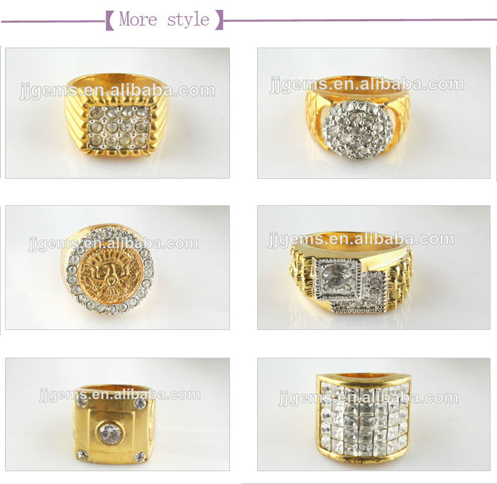 2014 Latest Design Gold Ring For Men In petitive Price Buy