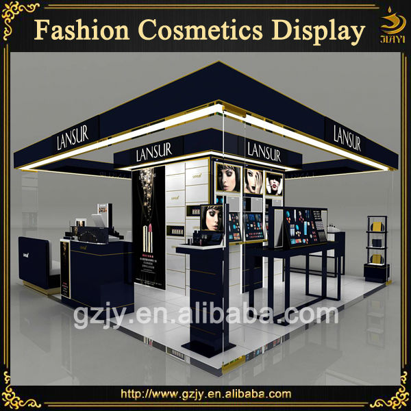 High-end Wooden Cosmetic Pop Displays Design And Glass ...