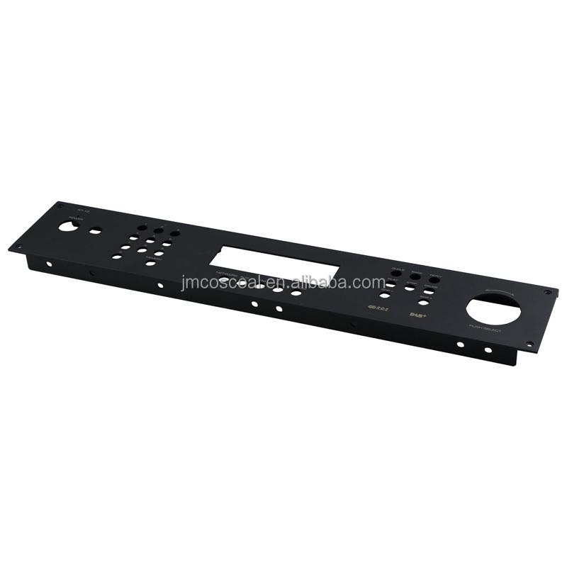 OEM precision amplifier aluminum front panel