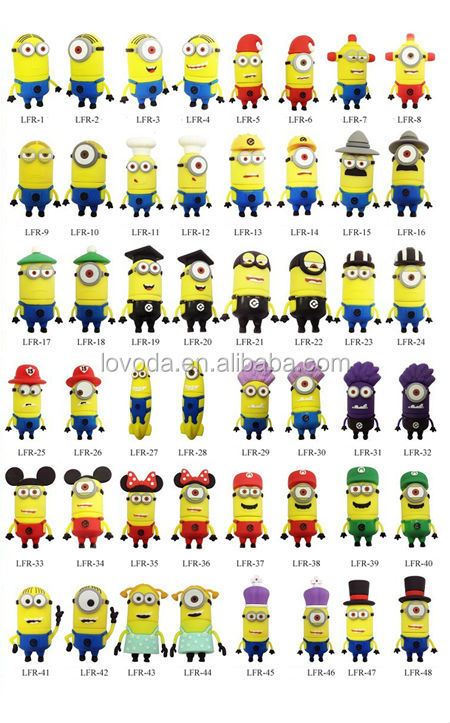 Yellow Minion Usb Flash Drive,Minions Toy Model Usb ...
