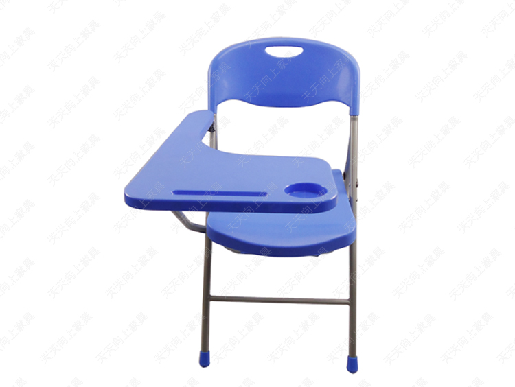 High Quality Folding Chairs With Writing Board Student Big Tablet Arm Chair  College Bulk Chair Loading