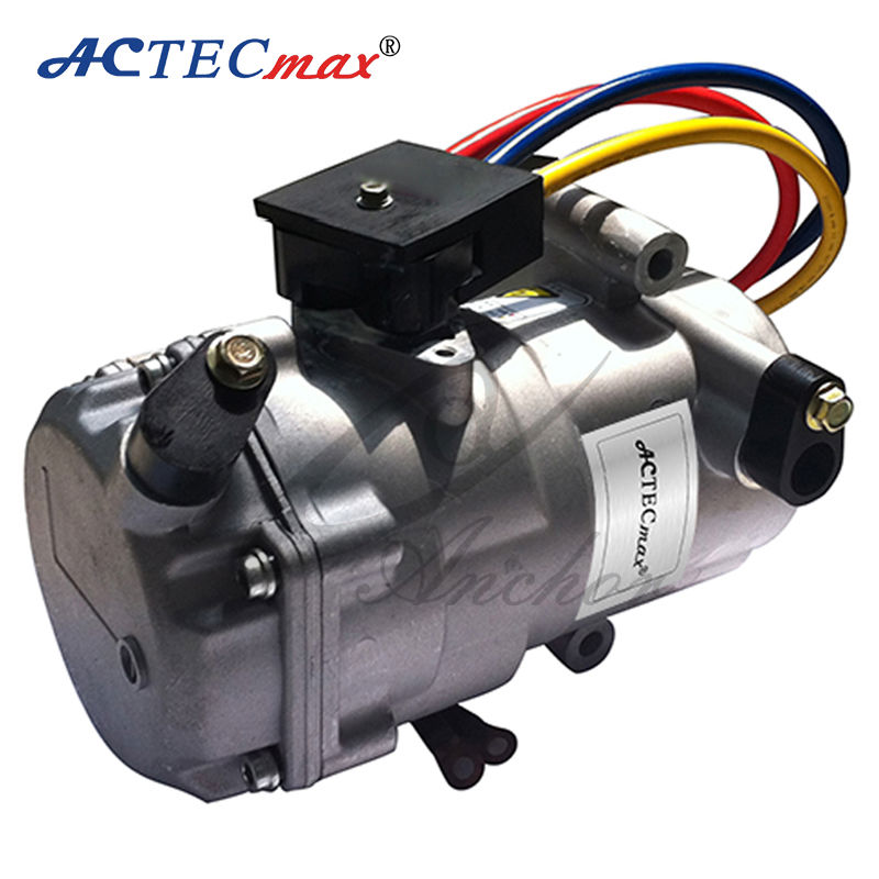 12v dc air conditioner compressor for cars by electric for Ac and dc motor