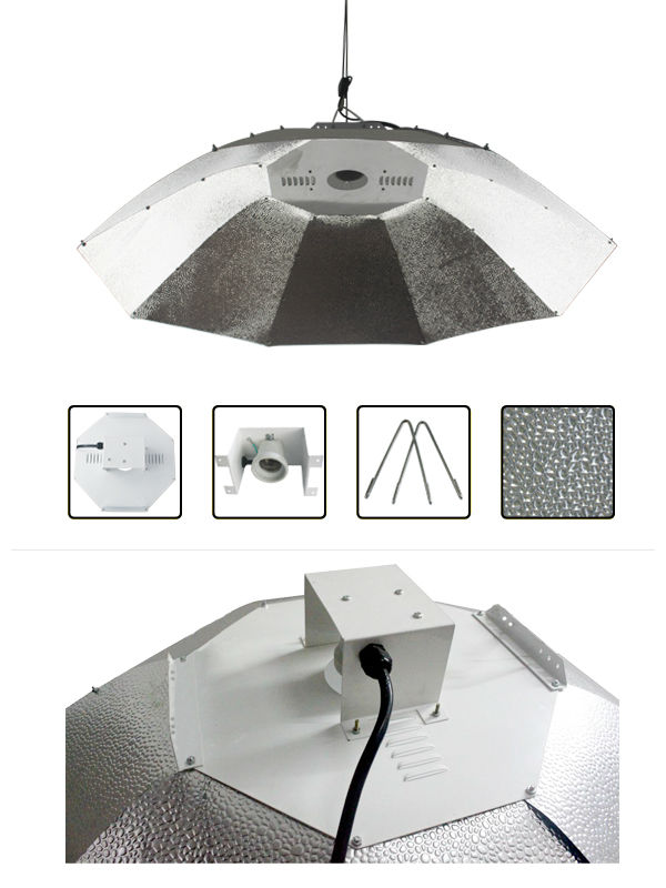 Lamp Cover Shade Umbrella Aluminum Foil Reflector