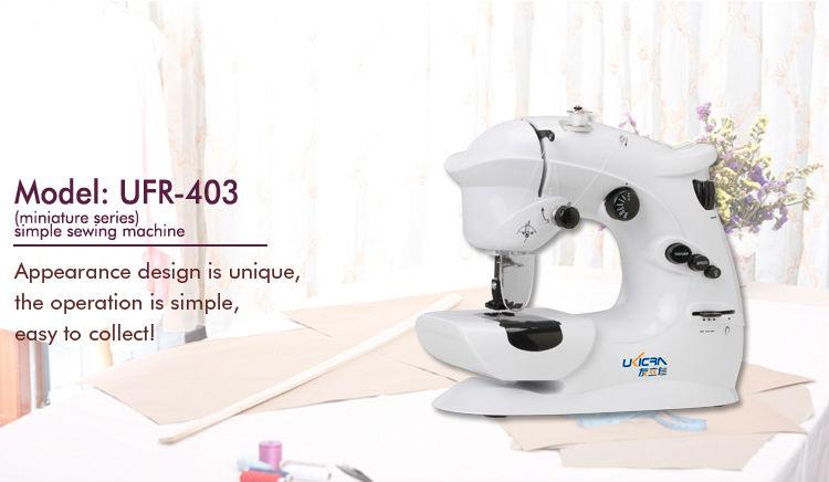 Mini Stitch Sewing Machine Manual Ukicra Ufr-403