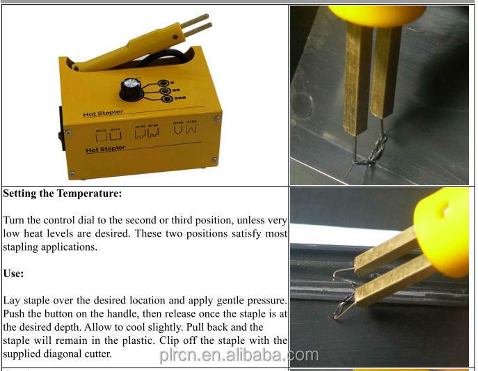 Verwonderend Hot Nietmachine Voor Kunststof Bumper Repair/kunststof Lassen JP-69