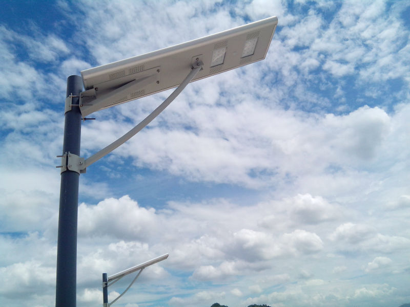 20w All In One Solar Street Light Intergrate Solar Street Light ...