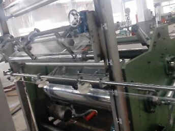 FLY-500 One Layer Stretch Film Extruder Machine PE Stretch/Wrapping Film Making Machine
